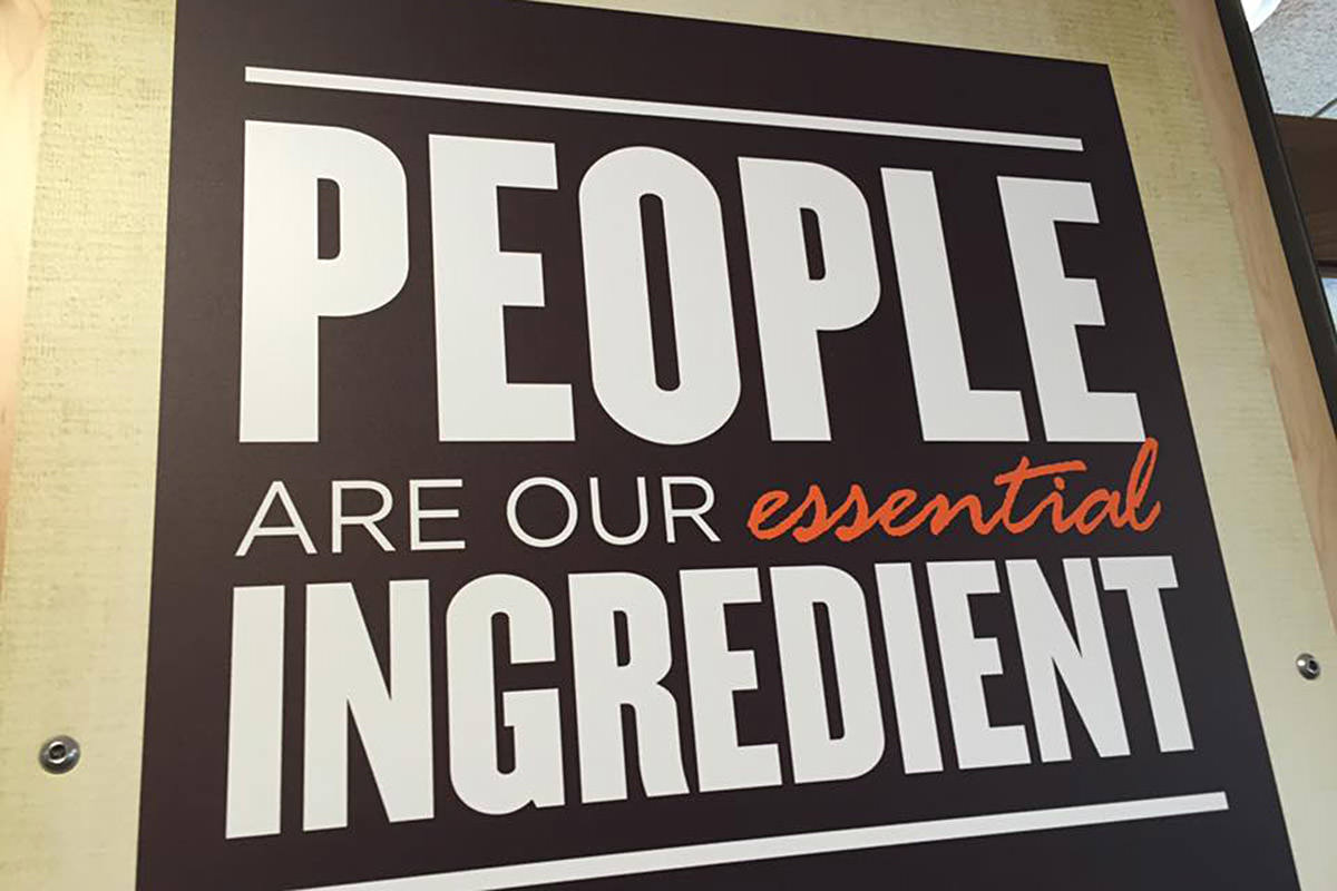 PEOPLE ARE OUR ESSENTIAL INGREDIENT!