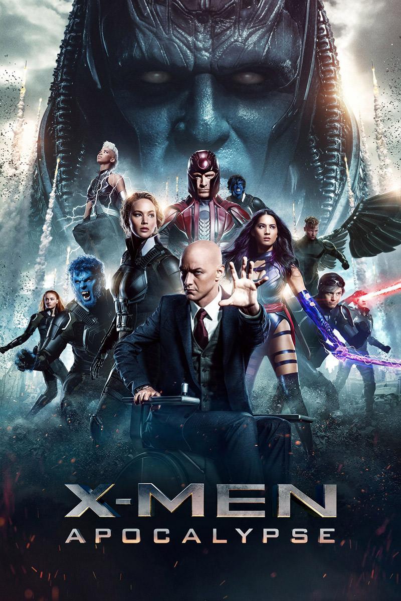 X-Men Apocalypse Poster.