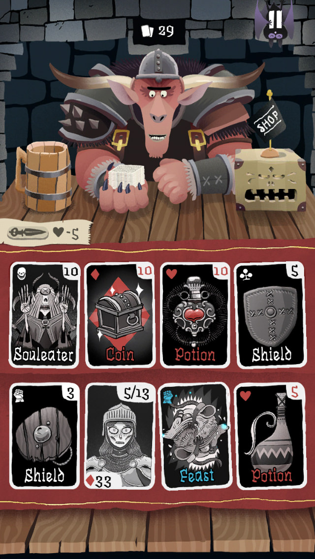 iPhone App Card Crawl Game