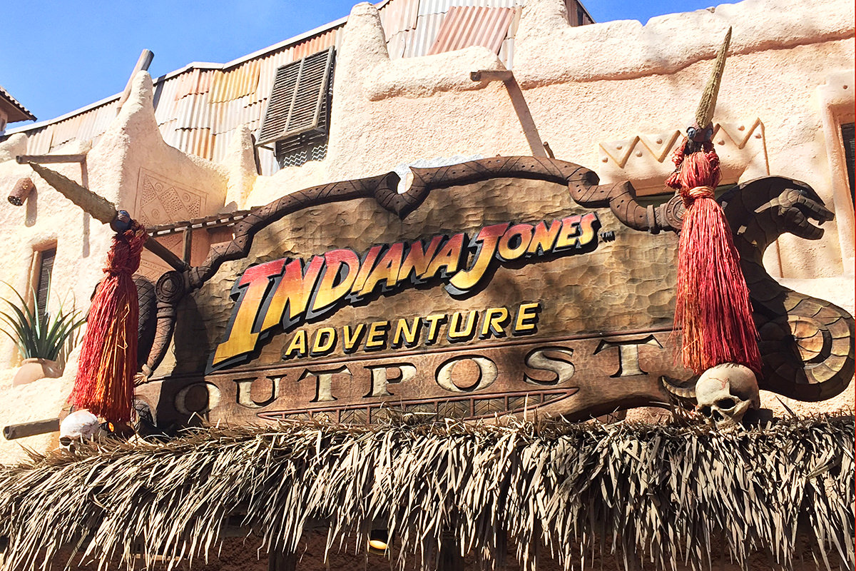 Signage from Disneyland