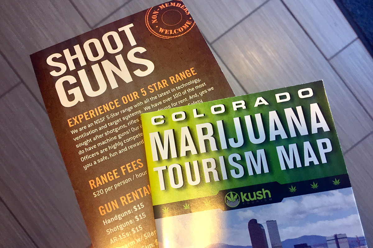 Guns and Weed Brochures