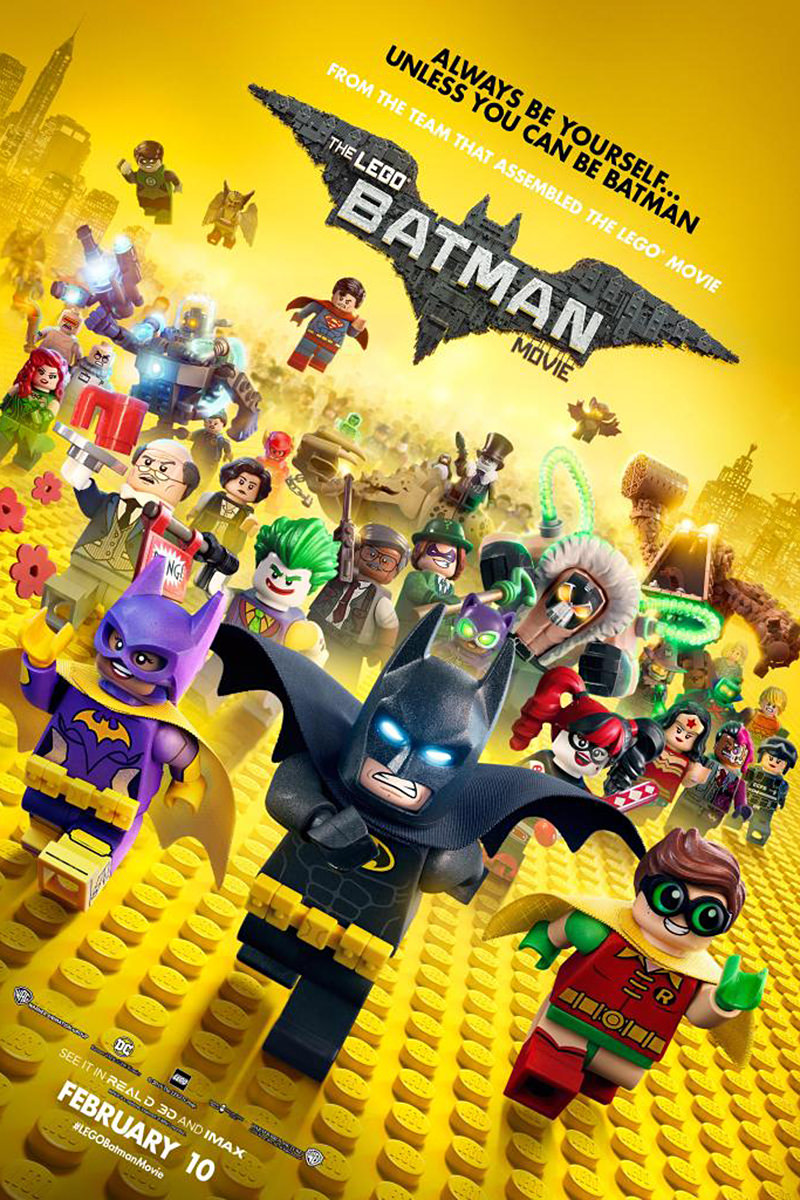 The LEGO Batman Movie Poster!