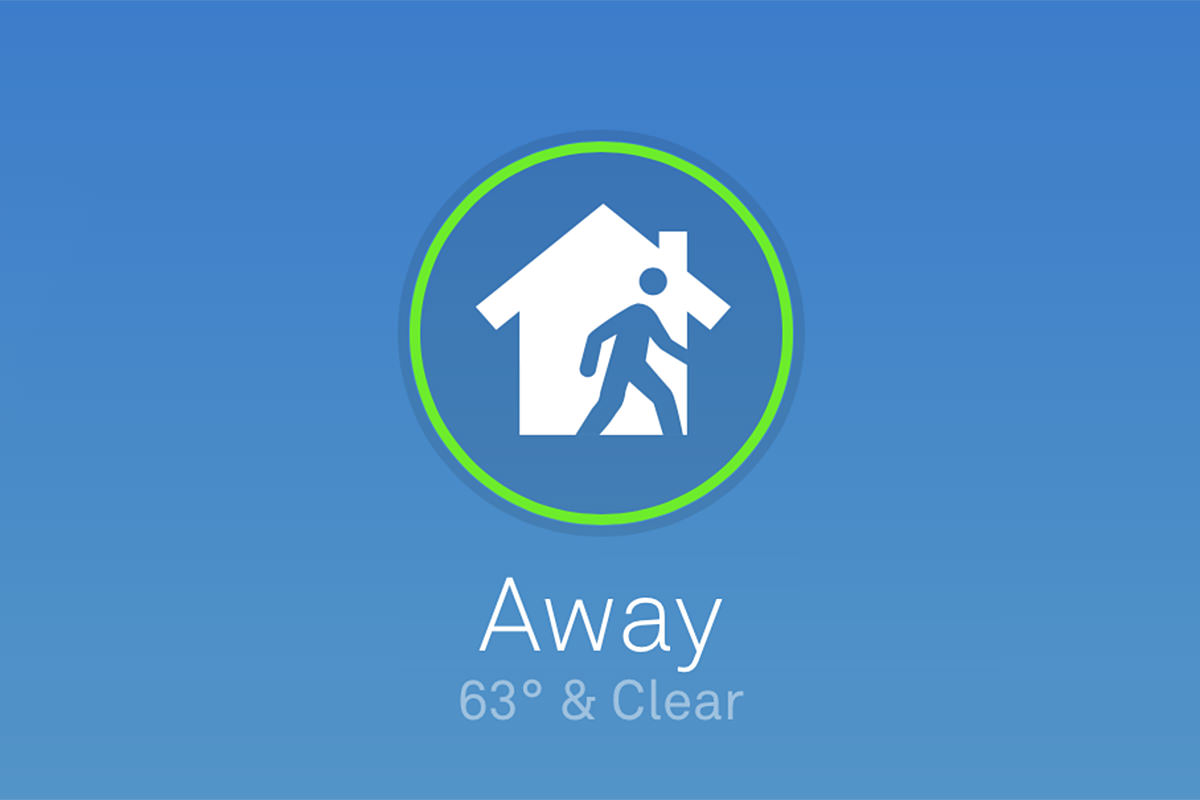 Nest's Home or Away Toggle Button!
