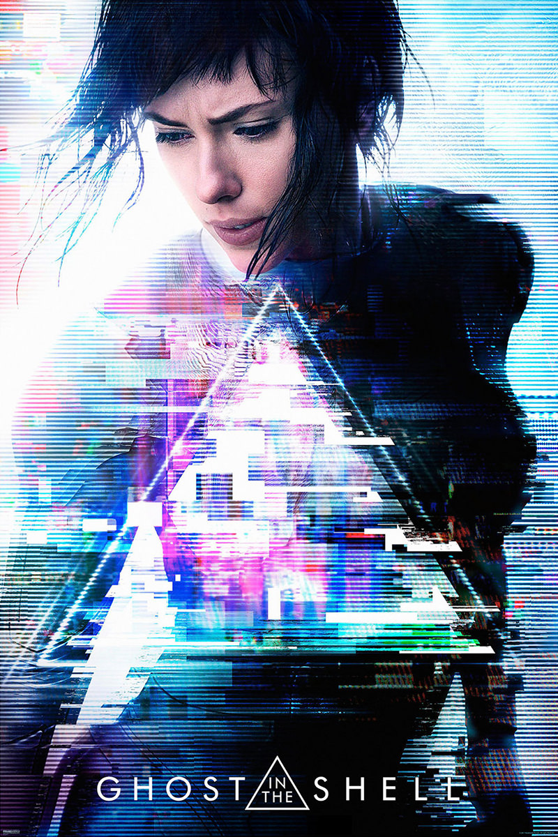 Ghost in the Shell Movie Poster!