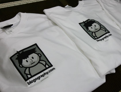 Blogography T's