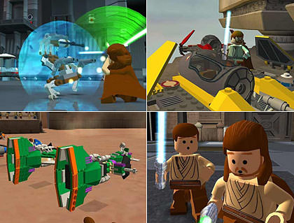 Lego Star Wars Game