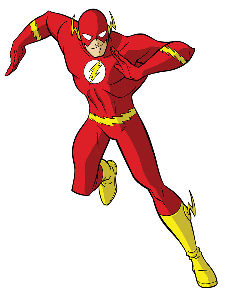 Animated Flash Costume!
