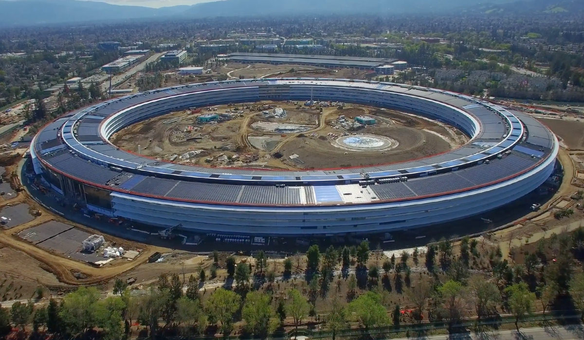 Apple Park by Air