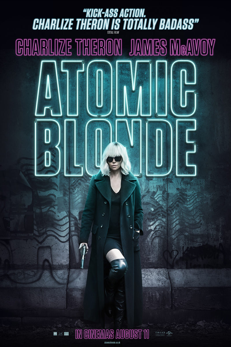 Atomic Blonde Movie Poster!
