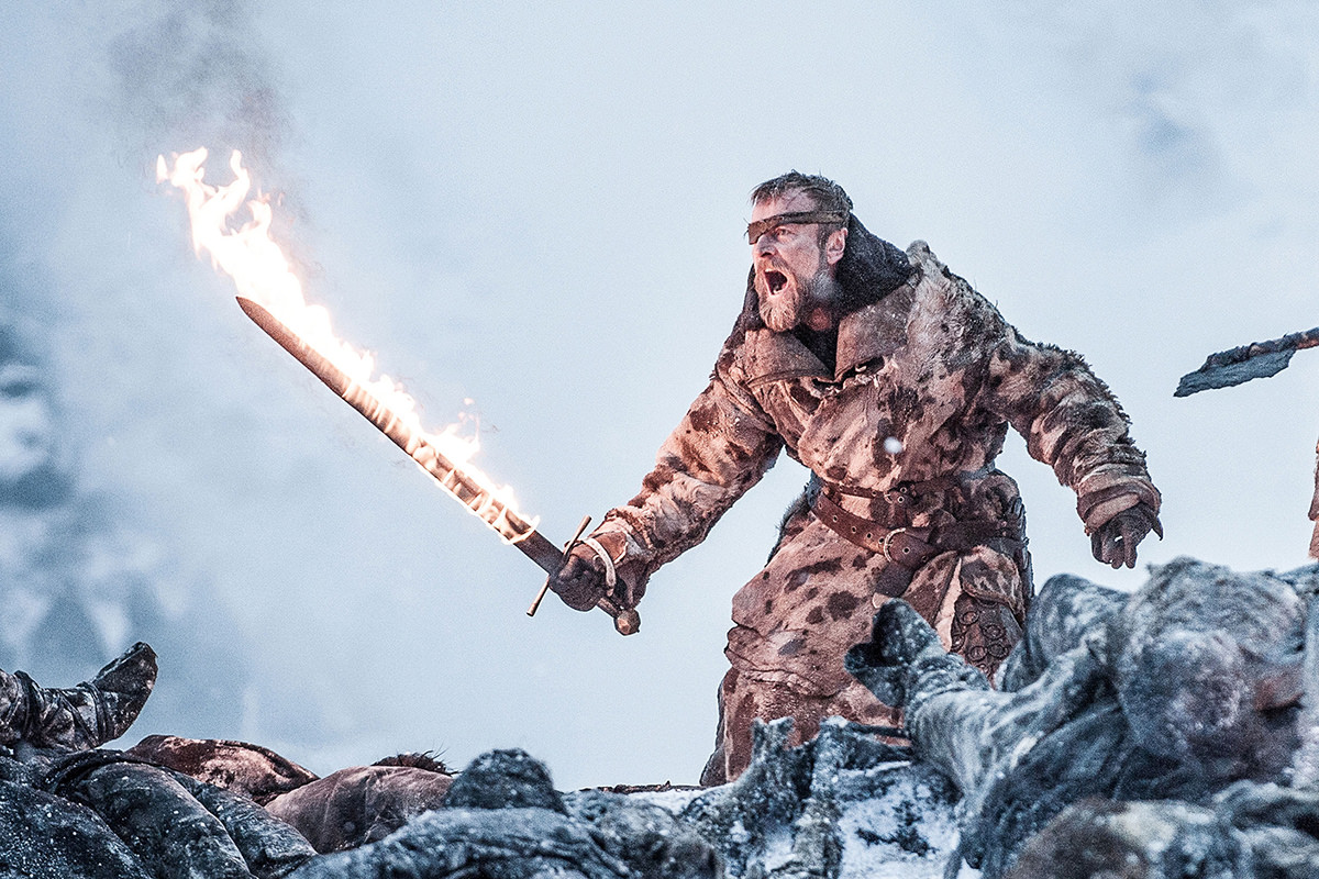 Beric with his Flaming Sword