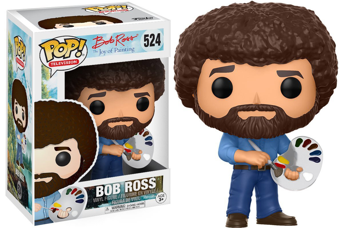 Bob Ross Funko POP! Character!