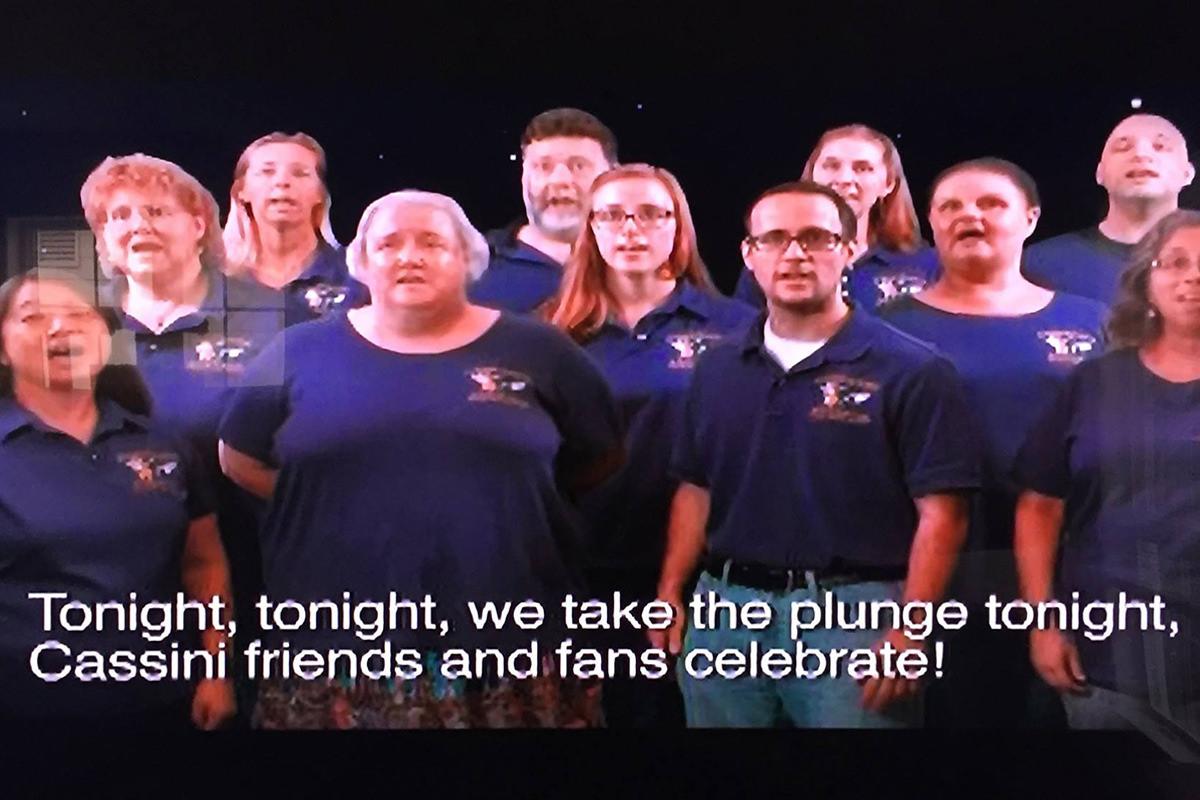 Cassini NASA Singers