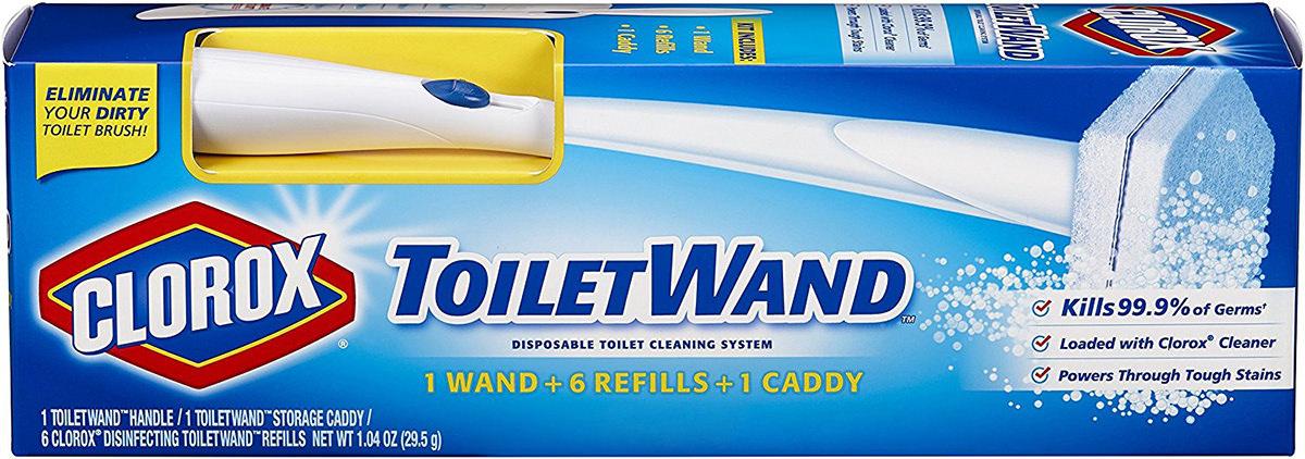 Clorox Toilet Wand Magic!