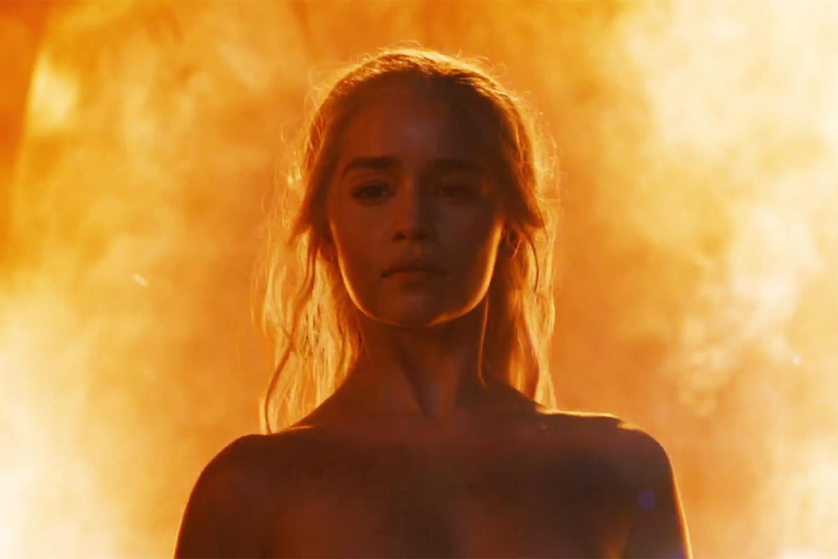 Daenerys Stormborn of the House Targaryen, First of Her Name, the Unburnt, Queen of the Andals and the First Men, Khaleesi of the Great Grass Sea, Breaker of Chains, and Mother of Dragons