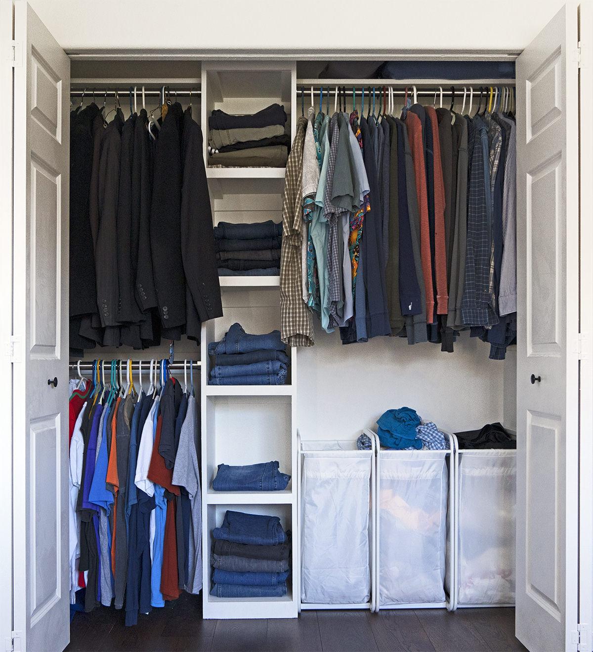 Dave's Home-Built Closet Organizer!