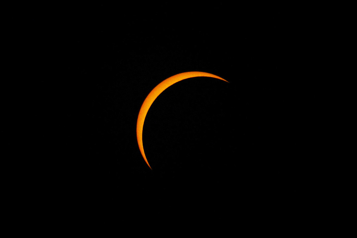 Total Eclipse Uneclipsed Sun Shot!
