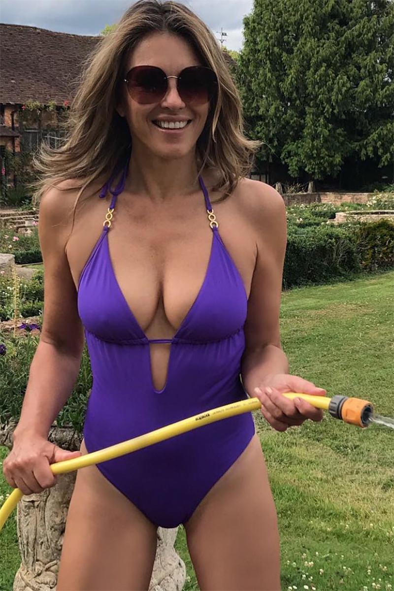 Elizabeth Hurley Gardening Hose