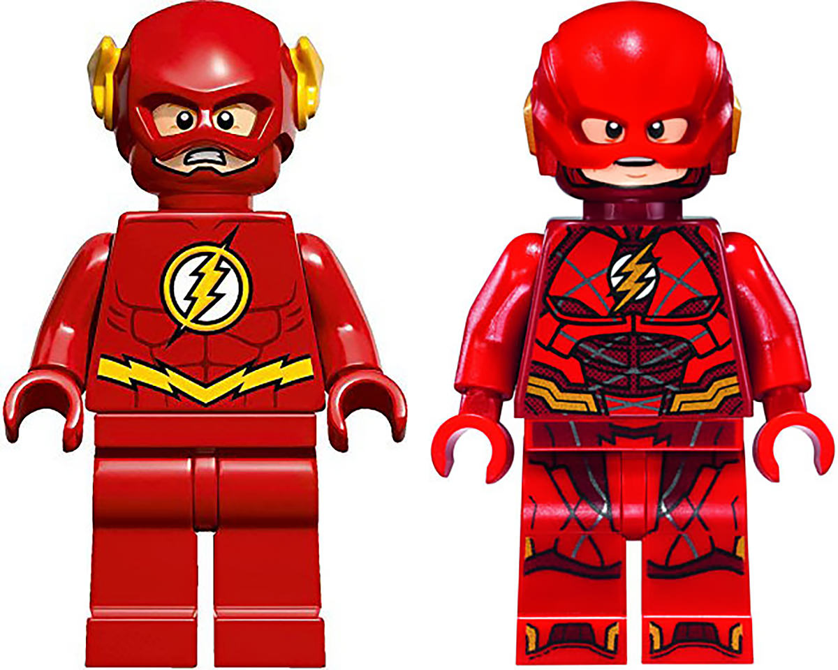 LEGO Flash Minifigs!
