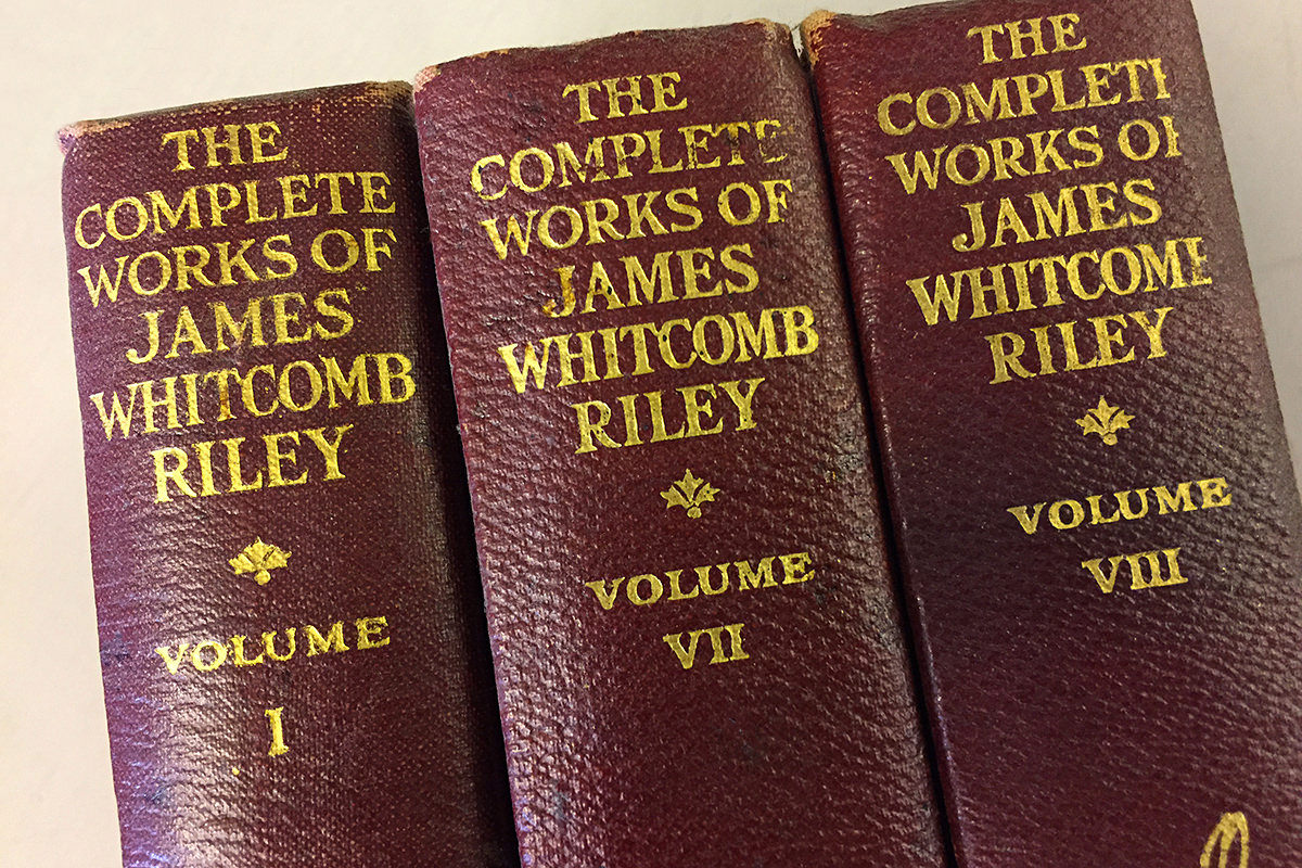 The Volumes of James Whitcomb Riley