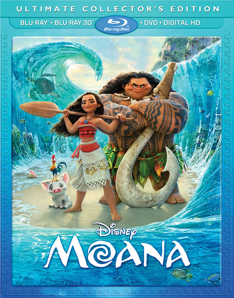 Moana 3D Blu-Ray Set