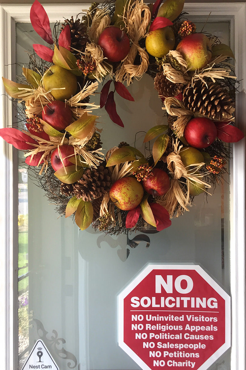 My New Fall Wreath