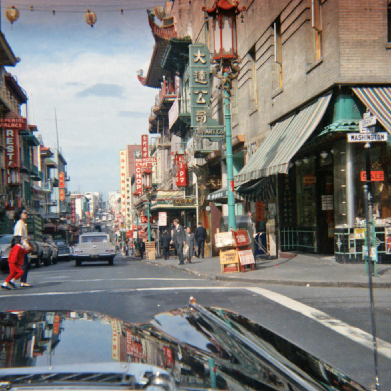 San Francisco circa 1965: Chinatown