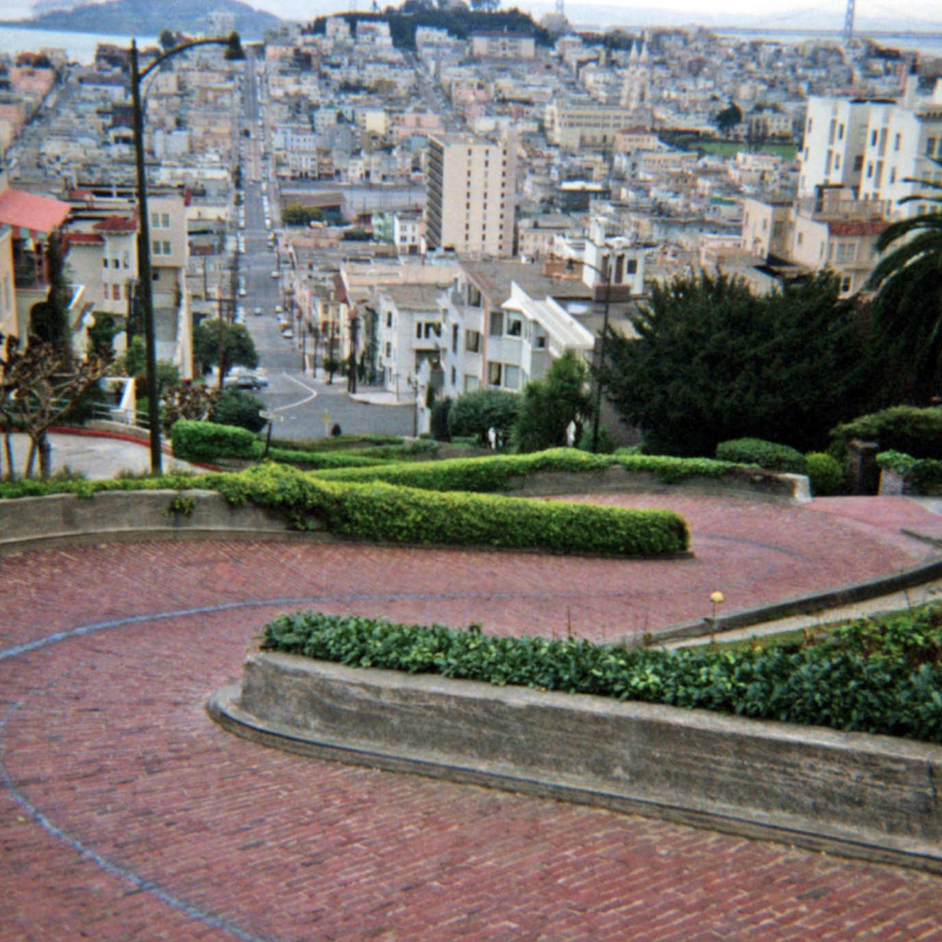San Francisco circa 1965: Lombard Street