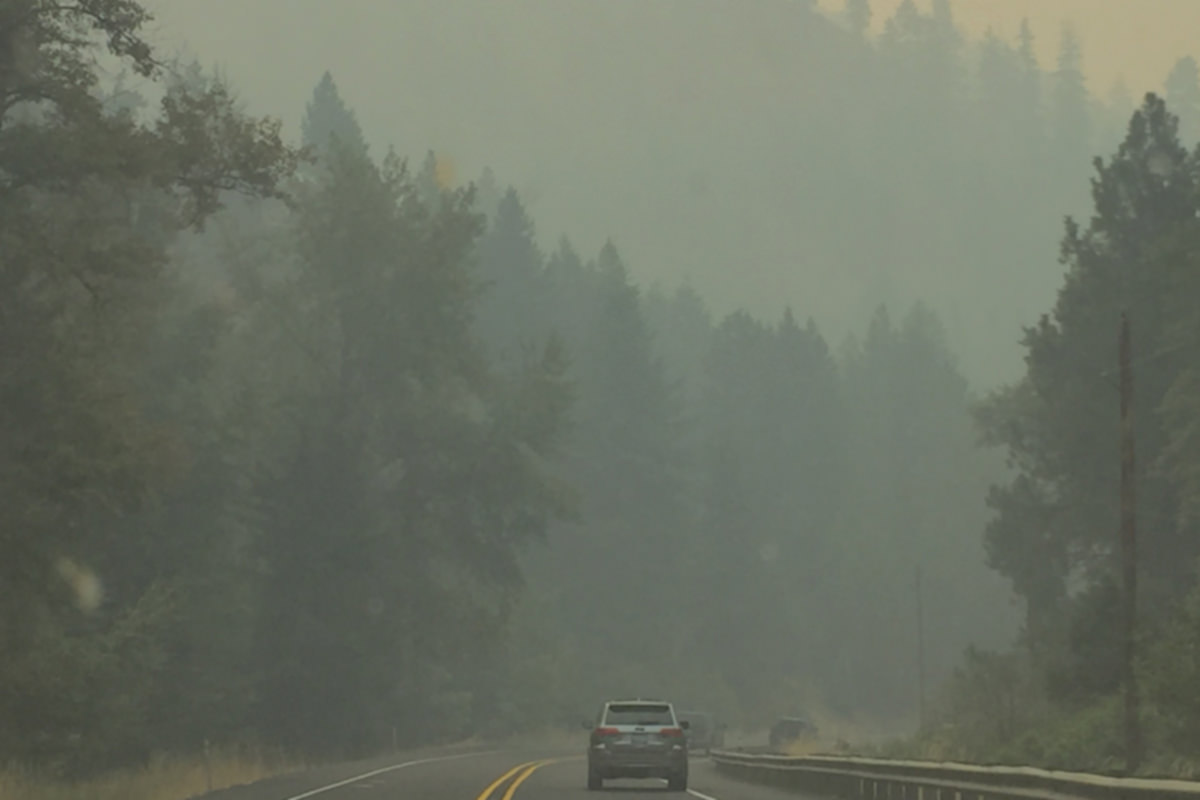 Wildfire Smoke Scenery