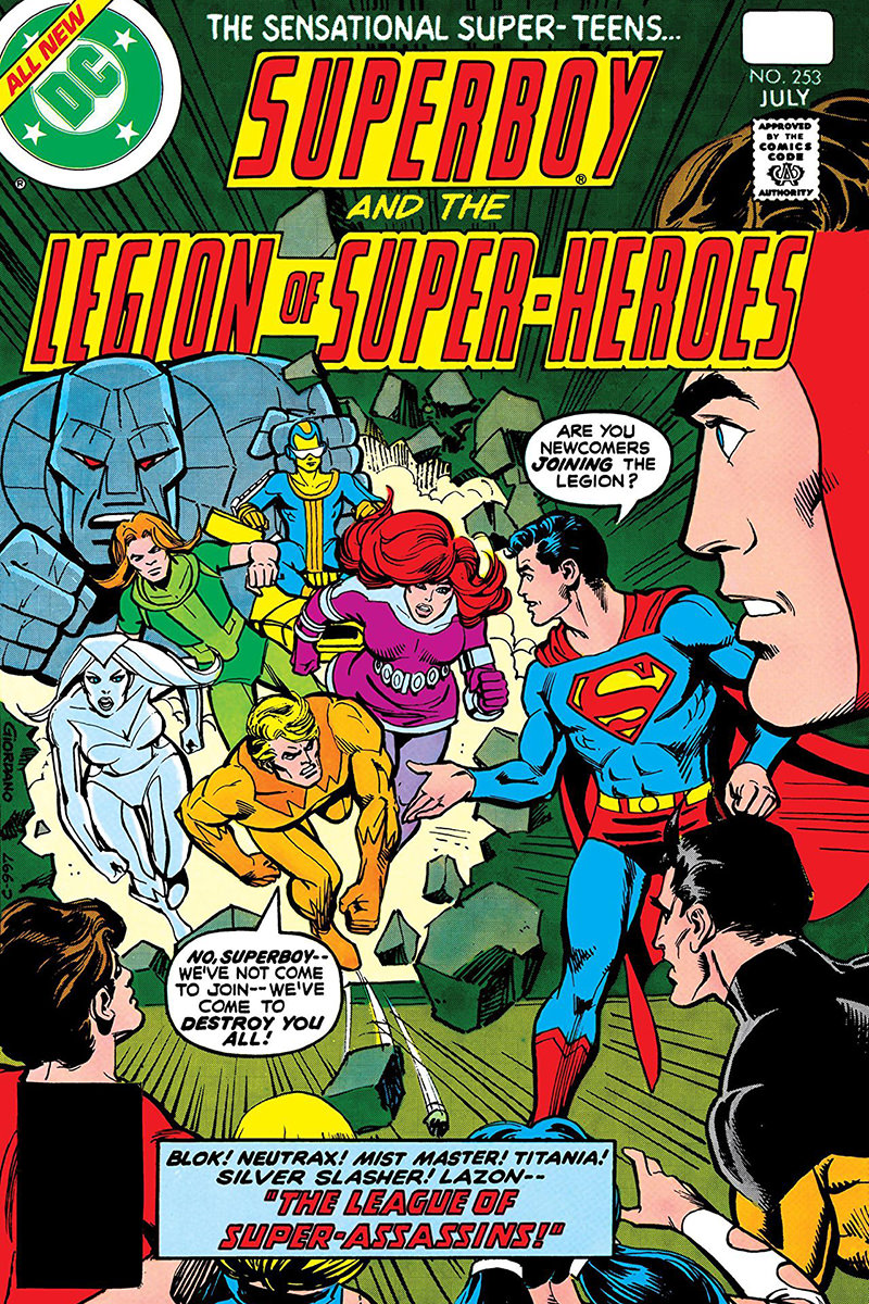Superboy and the Legion of Super-Heroes No. 253
