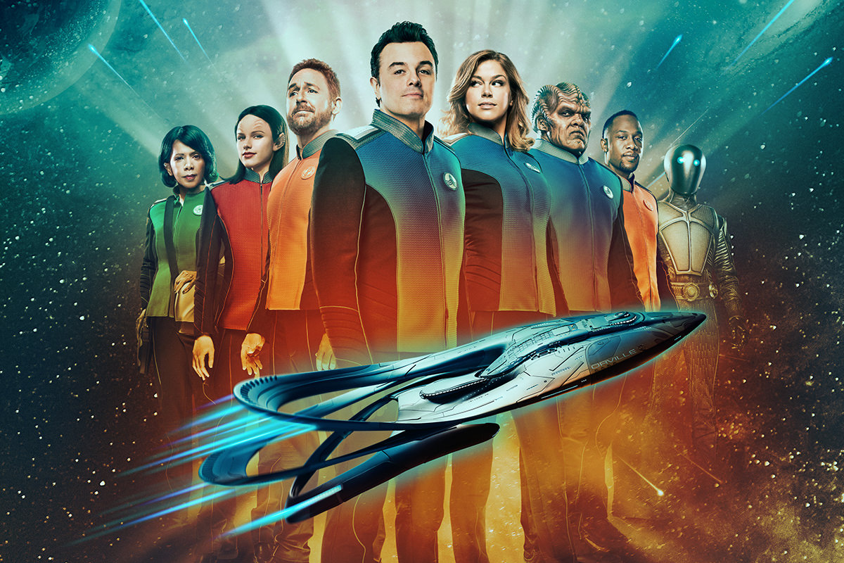 The Orville on FOX Poster