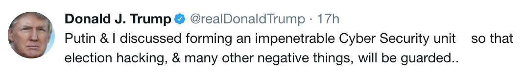 Putin Trump Fuckery