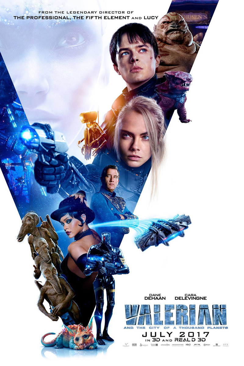 Valerian Movie Poster!