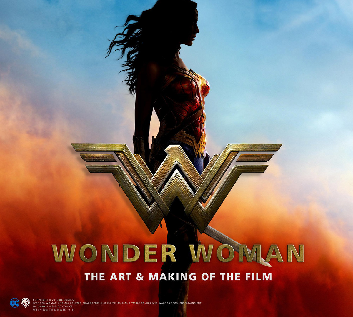 Wonder Woman: The Art of The Making of The Film Book
