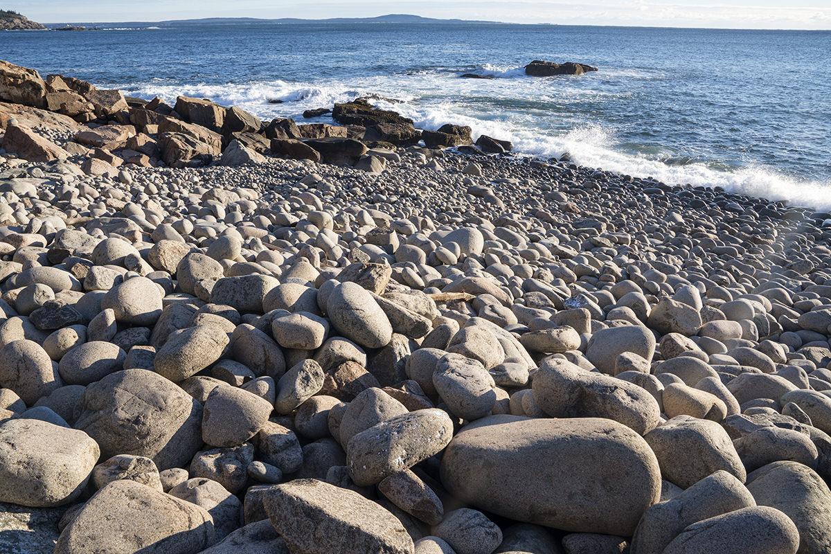 Boulder Beach Acadia