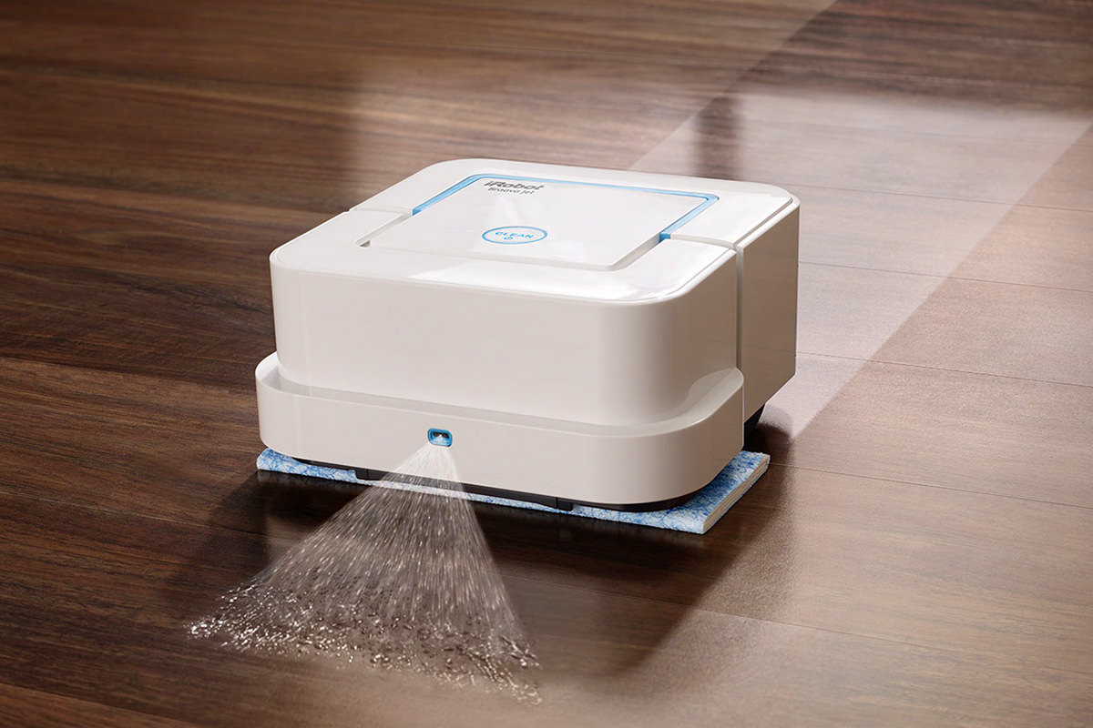 The iRobot Braava Jet!