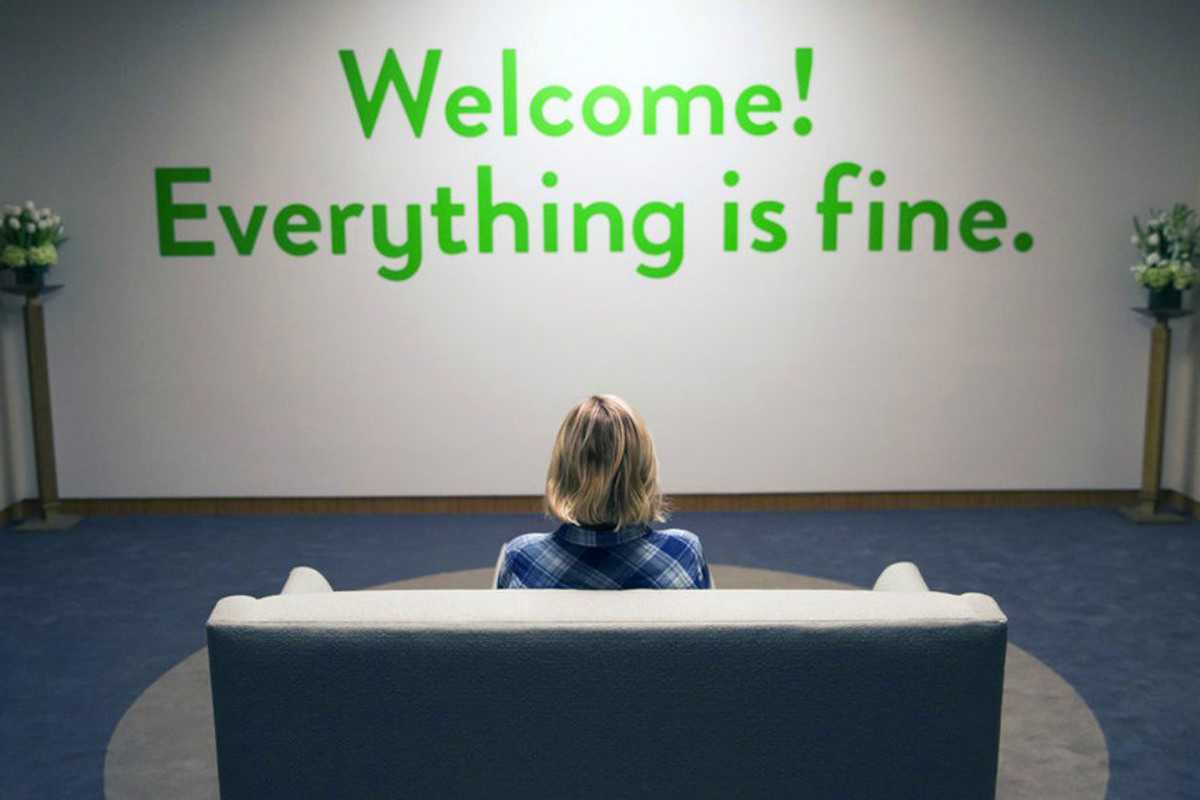 Welcome! Everything is fine!