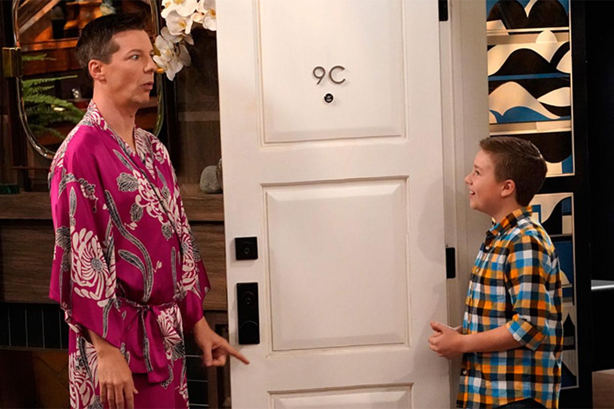 Jack meets his grandson