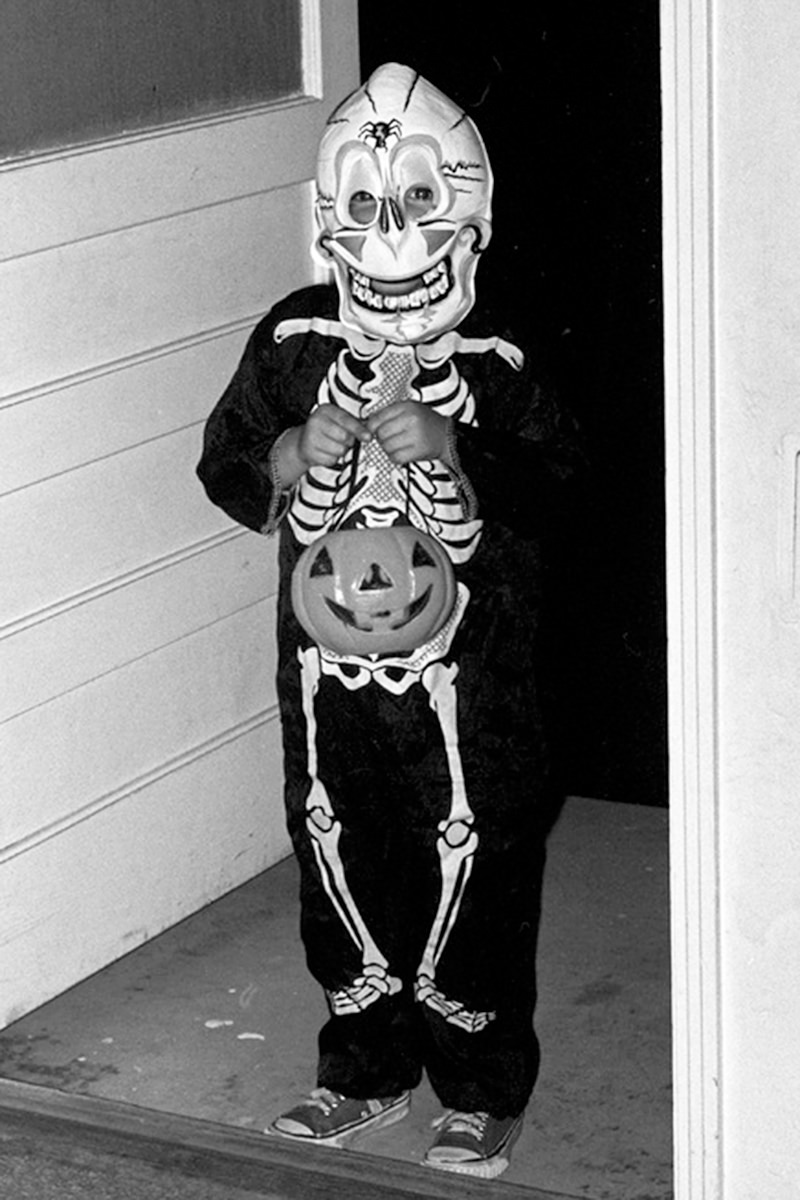 Davy at Halloween
