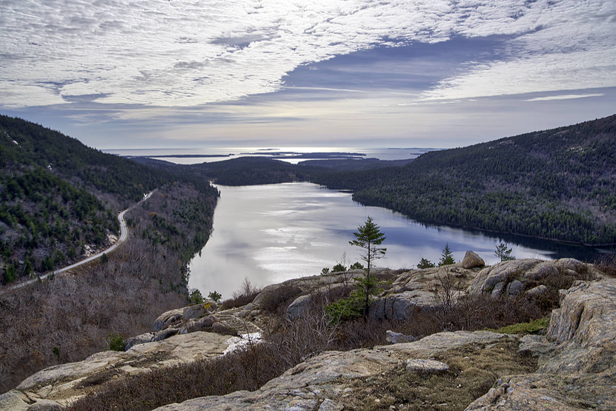 Jordan Pond Overlook!