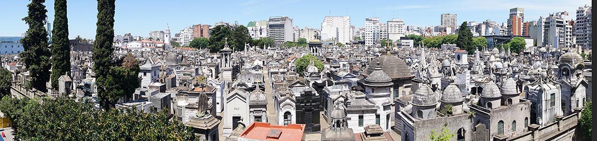 La Recoleta Cemetery View