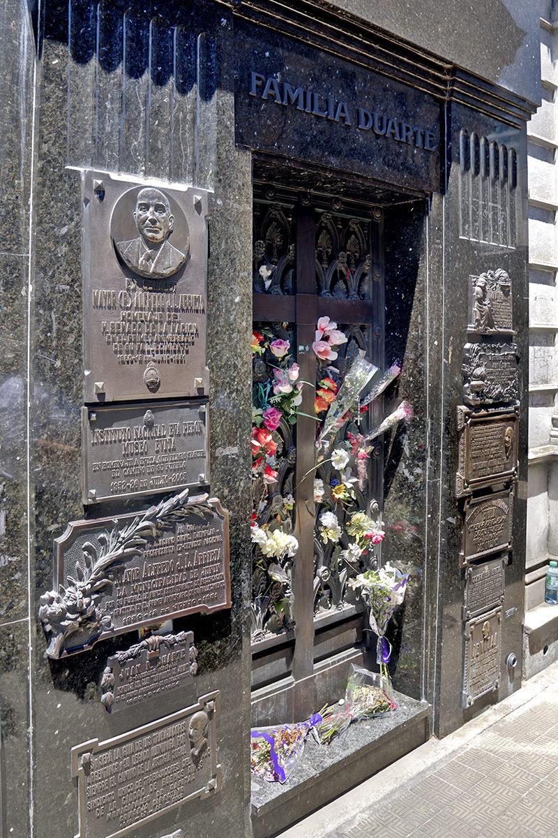 Eva Peron Gravesite