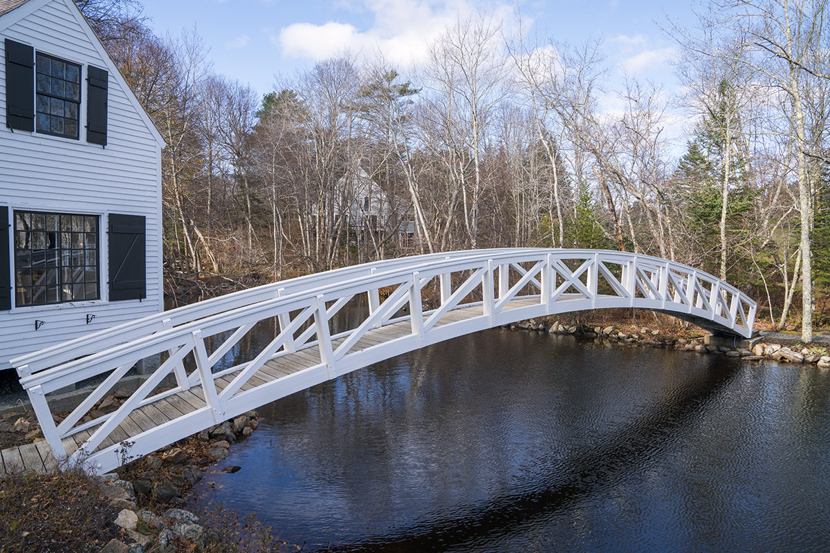 The Somesville Bridge in Acadia