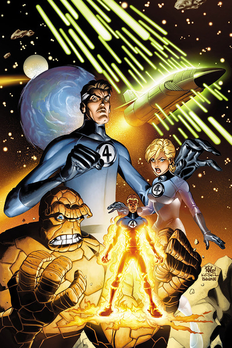 The Fantastic Four by Mike Wieringo!
