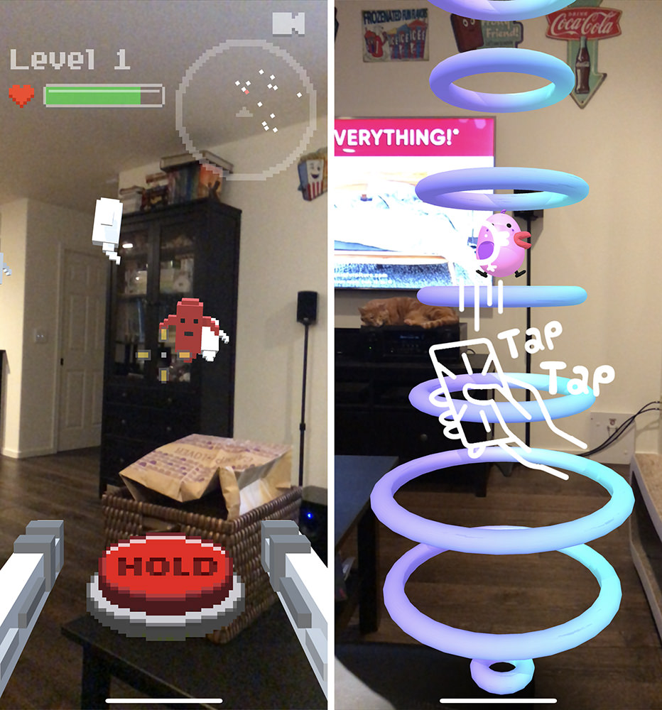 Shitty Apple AR Games