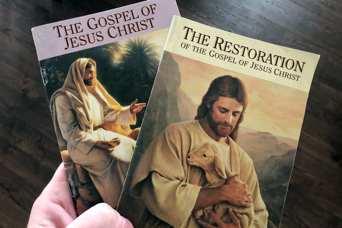 Unwanted Mormon Jesus Pamphlets