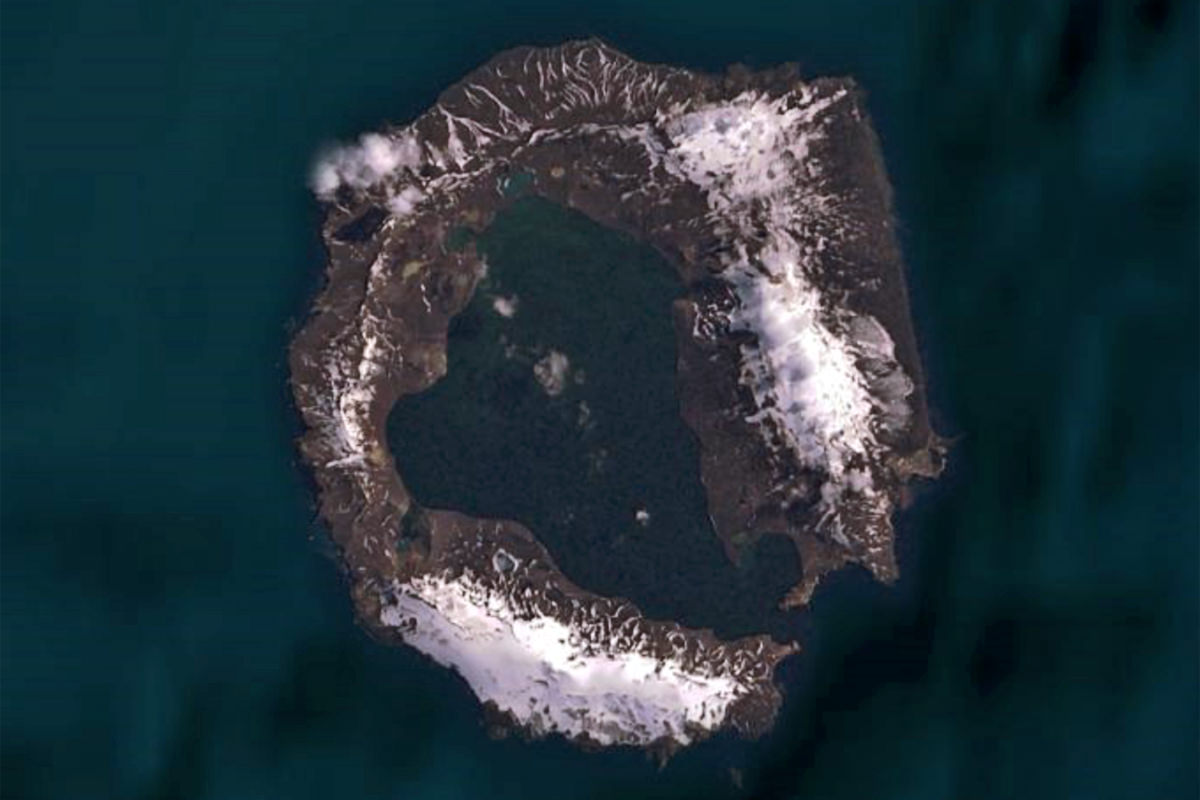 Deception Island Bing Maps