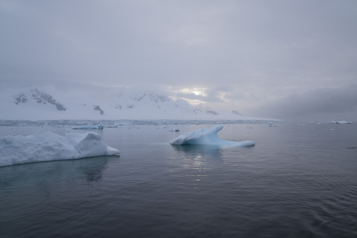 Glacier Icebergs
