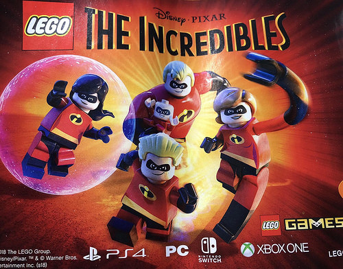 Incredibles LEGO Game