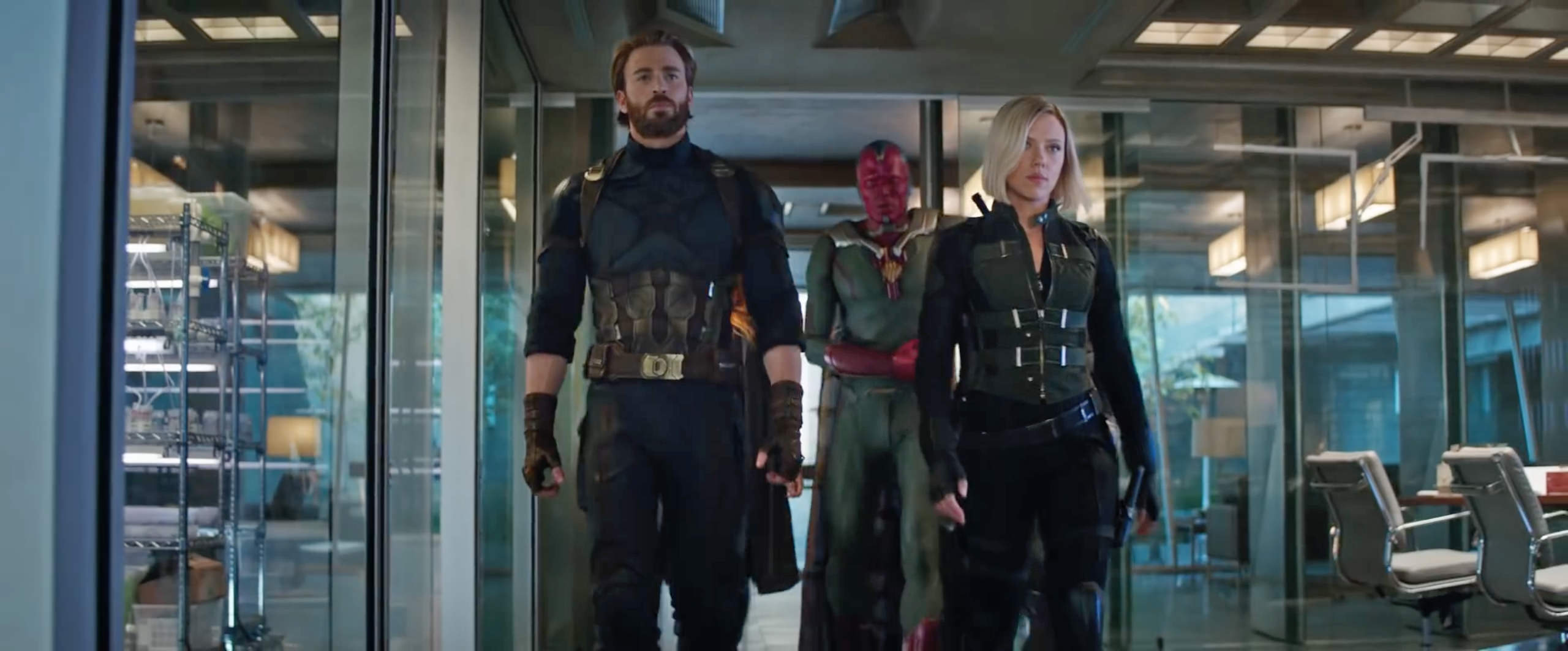 Avengers Infinity War Trailer Still