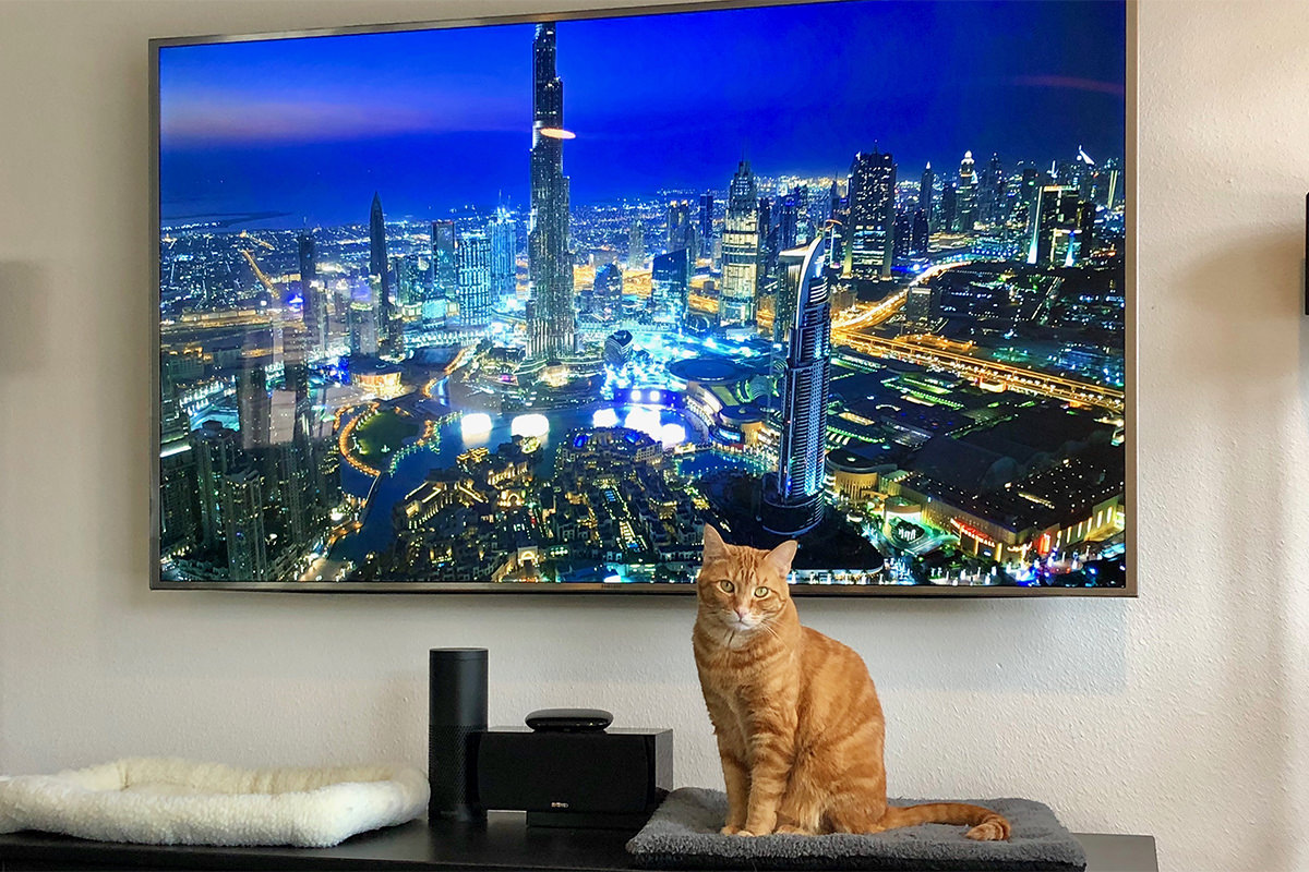 Jenny and the Dubai Apple TV Screen Saver